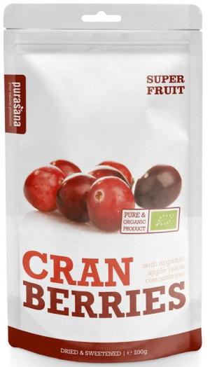 Cranberries, 200 gram, De EetLijn
