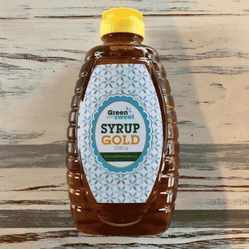 Green sweet syrup gold 1000 g, De EetLijn